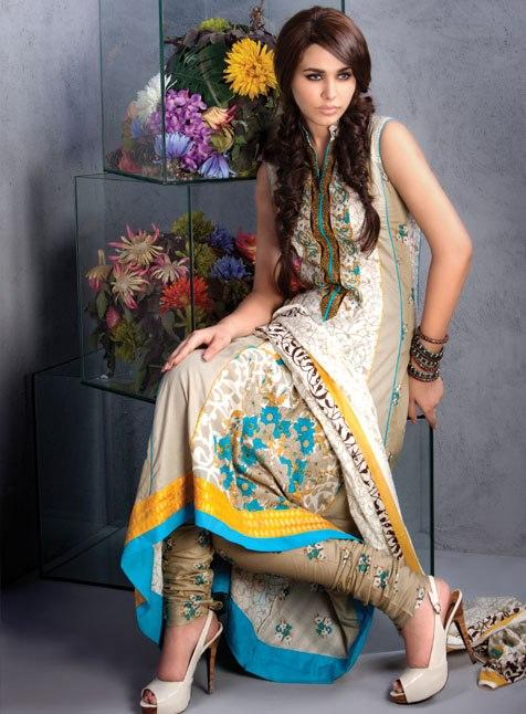 Alkaram Latest Summer Dream-Mid Summer Lawn 2012 Collection For Women 001