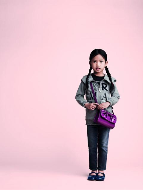 Armani Latest Junior Winter Fall Collection 2012-13 For Kids 001