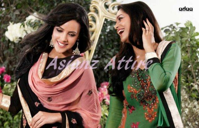 Asianz Attire Latest Adaa Party Wear Dresses 2012-13 For Women 001