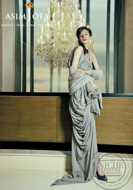 Asim Jofa Latest Beautiful Party Wear Collection 2012 For Women 003