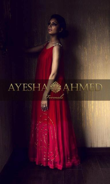 Ayesha Ahmed Latest Formal Wear Dress Collection 2012 for Women 0010