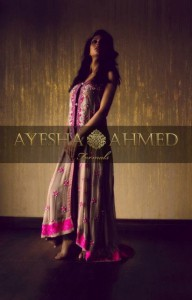 Ayesha Ahmed Latest Formal Wear Dress Collection 2012 for Women 004