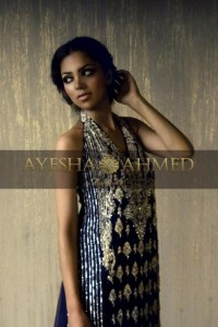 Ayesha Ahmed Latest Formal Wear Dress Collection 2012 for Women 005