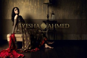 Ayesha Ahmed Latest Formal Wear Dress Collection 2012 for Women 007