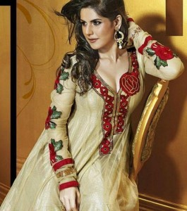 Beautiful Anarkali Frocks Fashion 2012 By Hot Zarine Khan