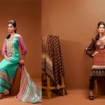 Beautiful Embroidered Dress Collection 2012 Feminine Designer By Shariq Textiles (11)