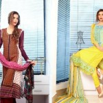 Beautiful Embroidered Dress Collection 2012 Feminine Designer By Shariq Textiles (12)