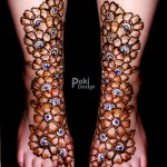 Complicated Mehndi Design