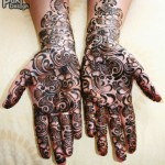 Complicated Pakistani Mehndi Design 2012
