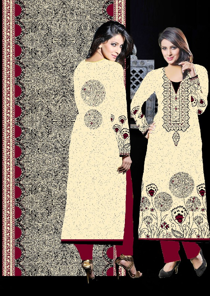 Dawood Cotton New Stylish Collection 2012 for Girl (6)