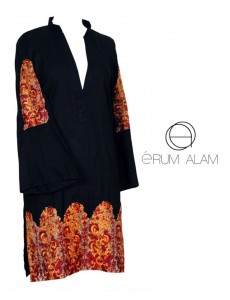 Erum Alam Latest Cotton kurtis Collection 2012-13 for Girls 001
