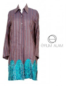 Erum Alam Latest Cotton kurtis Collection 2012-13 for Girls 007