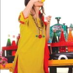 Fabrizio Casual Wear Dresses 2012-13 for Girls 001