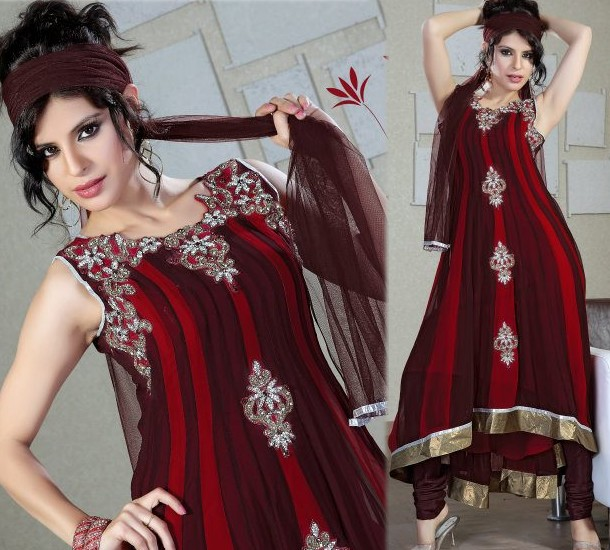 Indian Pishwas Frocks Designs 2012 she styles 0018