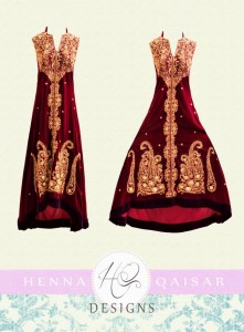 HQ Designs Formal Wear Dress Collection 2012-13 for Girls 002