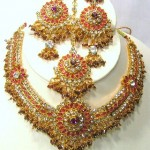 Indian Bridal Kundan Jewellery Set 001