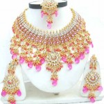 Indian Bridal Kundan Jewellery Set 0010