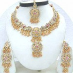 Indian Bridal Kundan Jewellery Set 0011