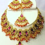 Indian Bridal Kundan Jewellery Set 003