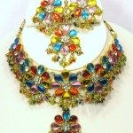 Indian Bridal Kundan Jewellery Set 004