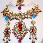Indian Bridal Kundan Jewellery Set 007