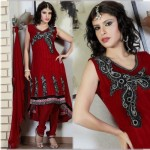 Indian Pishwas Frocks Designs 2012 she styles 0017