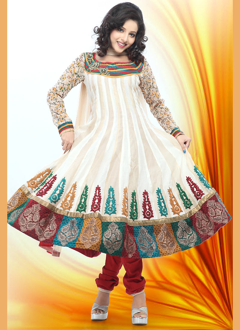 Indian Pishwas Frocks Designs 2012 she styles 007
