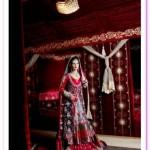 Kosain Kazmi Beautiful Kamdani Bridal Wear Dress Collection 2012 for women (1)