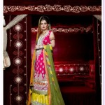 Kosain Kazmi Beautiful Kamdani Bridal Wear Dress Collection 2012 for women (2)