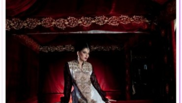 Kosain Kazmi Beautiful Kamdani Bridal Wear Dress Collection 2012 for women
