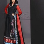 Lala Textiles Latest Senseous Lawn Dresses Collection 2012 For Women 002