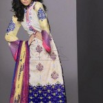 Lala Textiles Latest Senseous Lawn Dresses Collection 2012 For Women 005