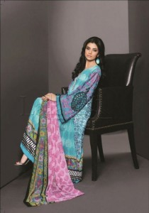 Lala Textiles Latest Senseous Lawn Dresses Collection 2012 For Women 006
