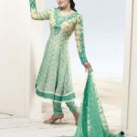 Latest Anarkali Frocks Dress 2012 By Zarine Khan
