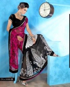 Latest & Beautiful Saree collection 2012-13 For Women By Brinda's