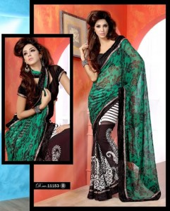 Latest & Beautiful Saree collection 2012-13 For Women By Brinda's (5)