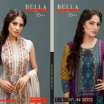 Latest Bela Lawn Collection 2012-13 For Women By Shariq Textiles 006