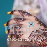 Latest Bridal Mehndi Designs 2012-13 By Uroos Mehndi