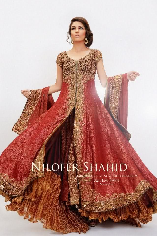 Latest Bridal Wear Collections 2012 0015