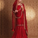 Latest Bridal Wear by Sanz Collection 2012 002
