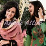 Latest Colorful casual wear Collection 2012-13 For Girls Adaa by Asianz Attire