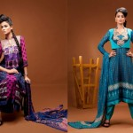 Latest Embroidered Dress Collection 2012 Feminine Designer By Shariq Textiles