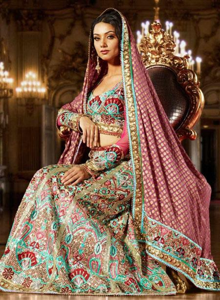 Latest Lehenga Designs Collection 2012-13 For Bridals