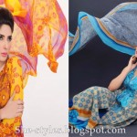 Latest Pakistani Lawn Collection 2012-13 Summer Dress Designs 004