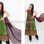 Latest Pakistani Lawn Collection 2012-13 Summer Dress Designs 005