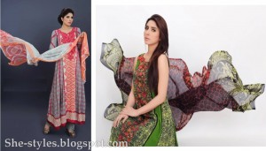 Latest Pakistani Lawn Collection 2012-13 Summer Dress Designs 006