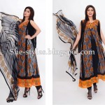 Latest Pakistani Lawn Collection 2012-13 Summer Dress Designs 008