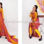 Latest Pakistani Lawn Collection 2012-13 Summer Dress Designs