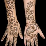Latest and Beautiful Arabic Mahndi Designs Collection 2012 For Girls (2)