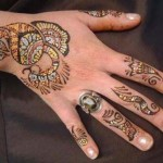 Latest and Beautiful Arabic Mahndi Designs Collection 2012 For Girls (6)
